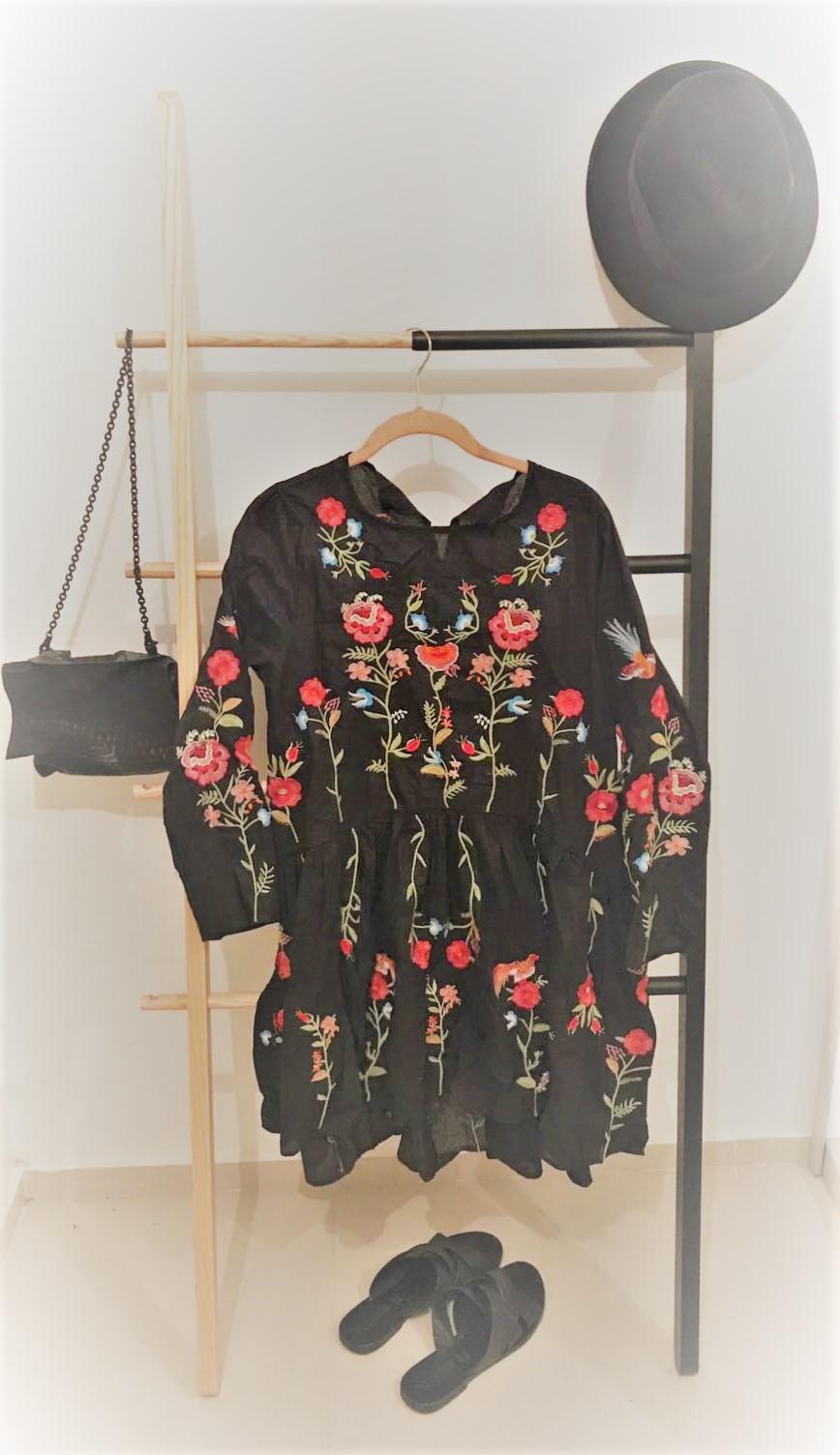 שמלה - טוניקה עם רקמה